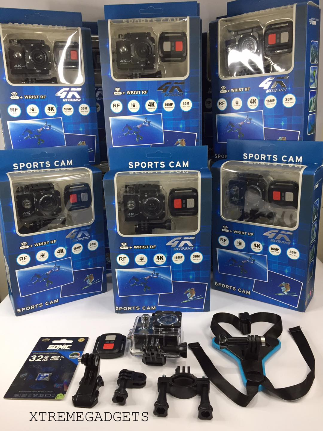 SPORTS CAM 4k Ultra HD SET