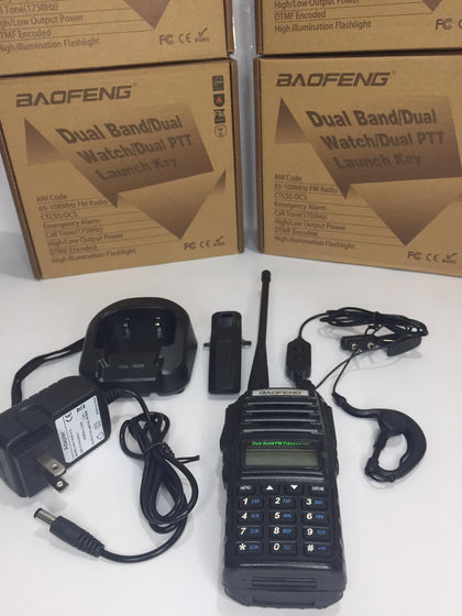 BAOFENG Dual Band/ Dual Watch/ Dual PTT Launcher Key