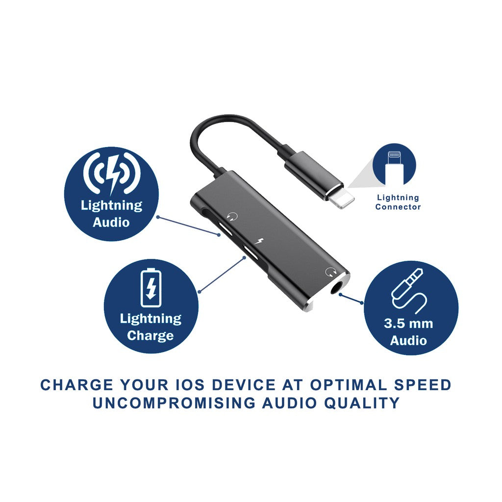 ALPHATECH  3 in 1 Lightning Adapter