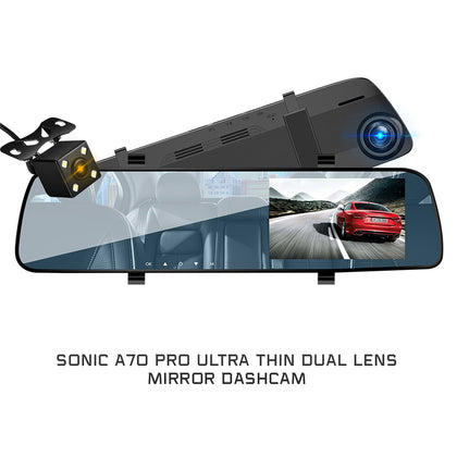 SONIC Dual Camera Dashcam A-70 Pro