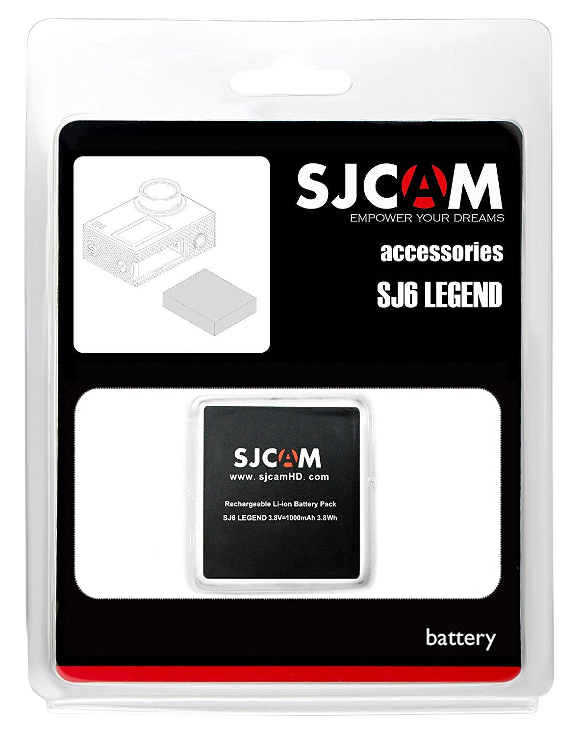SJ6 LEGEND BATTERY