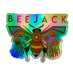Beejack Logo Holographic Sticker