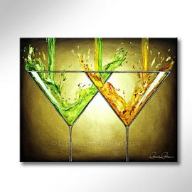 Double Martini - (Limonade Motif)