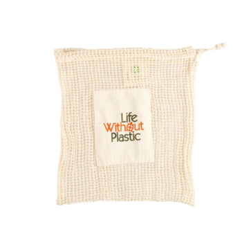 Organic Cotton Mesh Plastic-Free Produce Bag - Medium