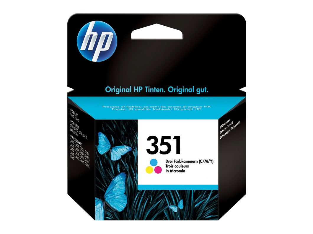 HP 351 color CB337EE Tintenpatrone