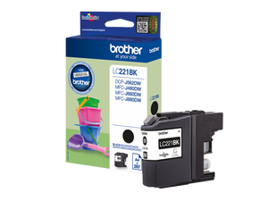 brother LC-221BK schwarz Tintenpatrone