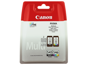 Canon PG-545/CL-546 schwarz, color Multipack