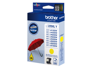 brother LC-225XLY gelb Tintenpatrone