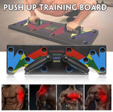 9 IN 1 FITNESS PUSH UP TRAINING BOARD