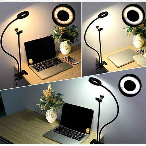 Professional LED Ring Light with Phone Holder
