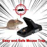 2pcs Reusable Mouse Trap