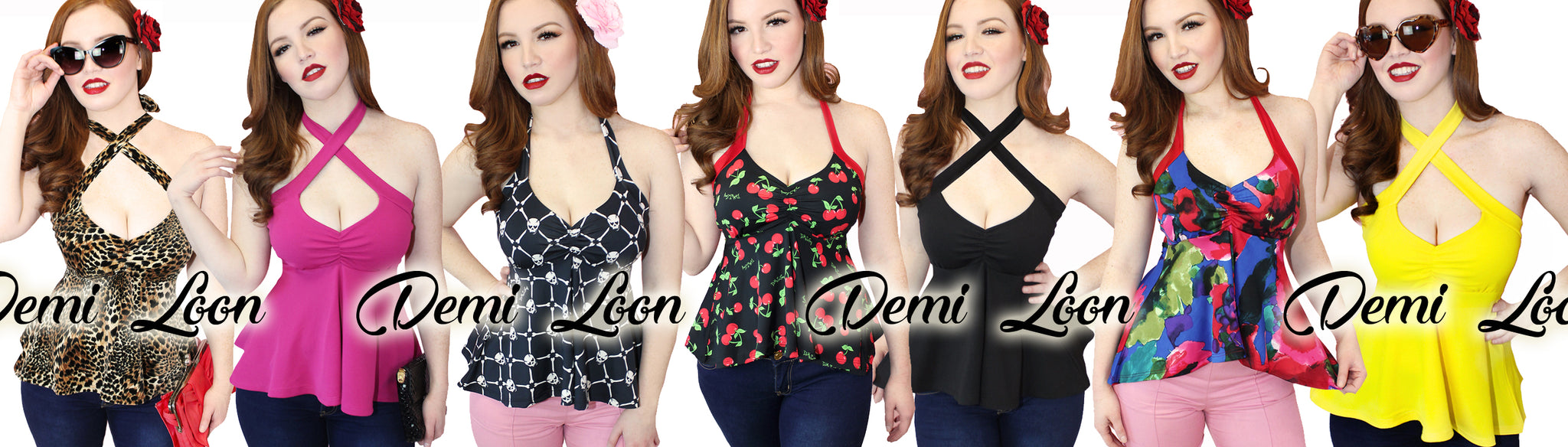 Cute Pinup Top, Sexy plus size pinup clothing retro tops vintage dresses