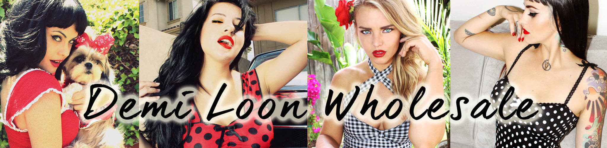 wholesale pinup clothing by demi loon