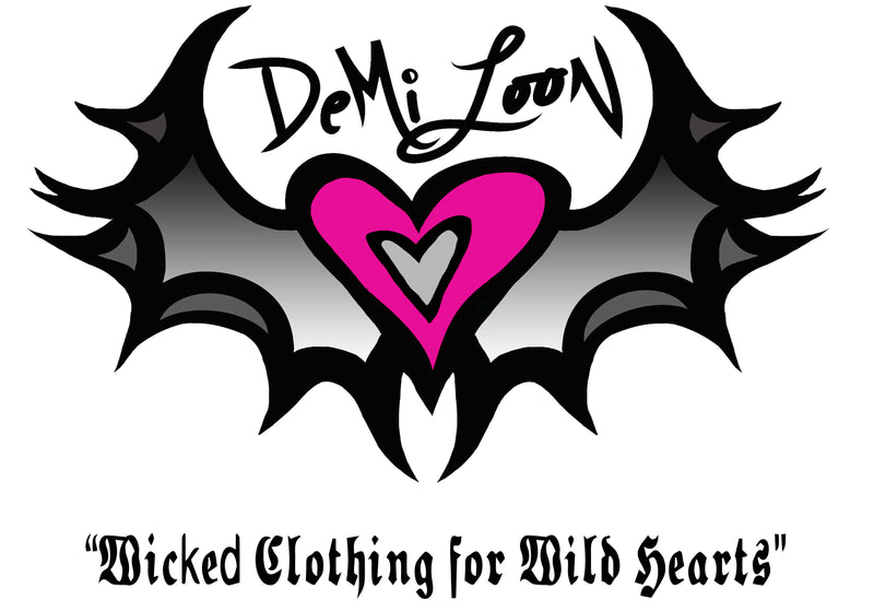 Demi Loon Biker Pinup Clothing