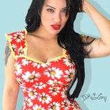Miss Daisy Kat Country Pinup Top- Sold Out