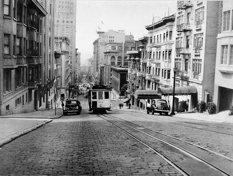 San Francisco Cable Car 1945