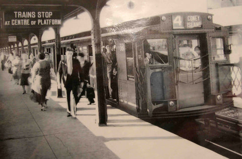 NYC subway historical photo