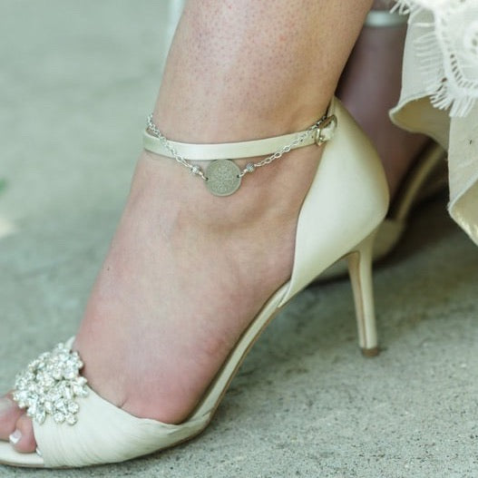 A Sixpence In Her Shoe Anklet
