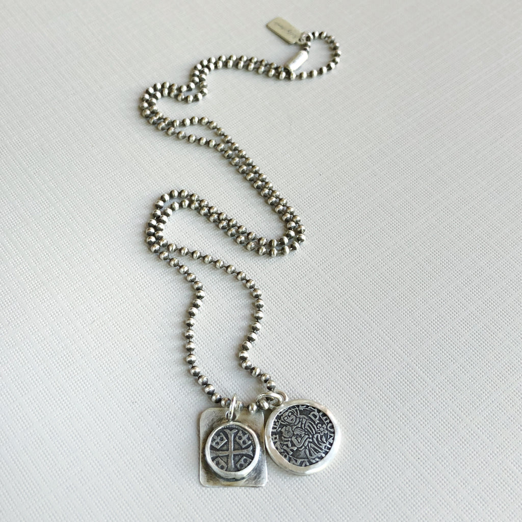 Dracula coin necklace
