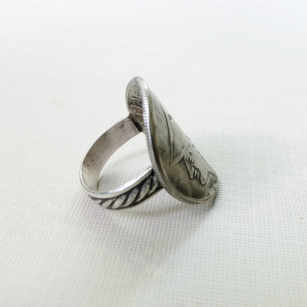 Coin Wrap Ring
