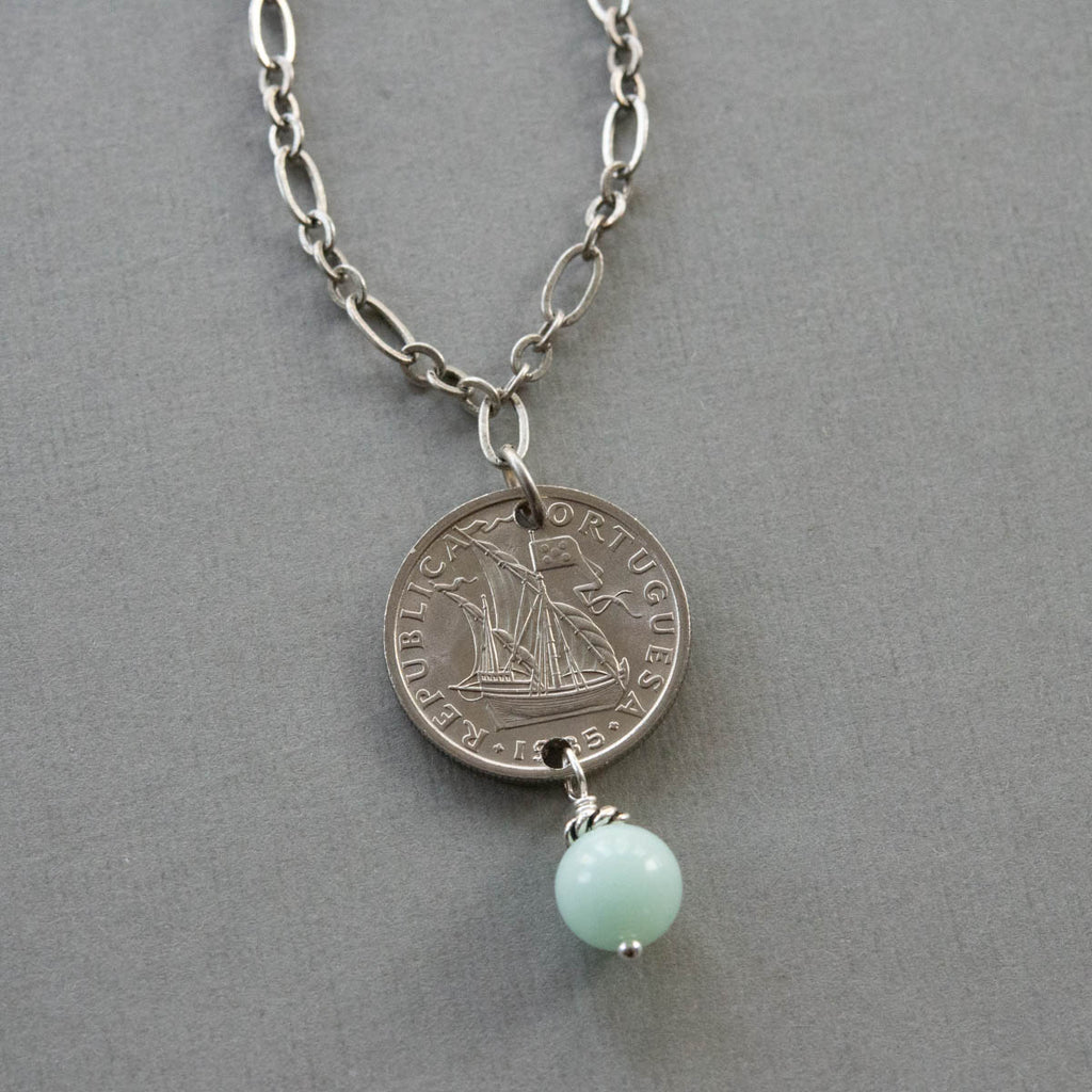 Ship at Sea Necklace