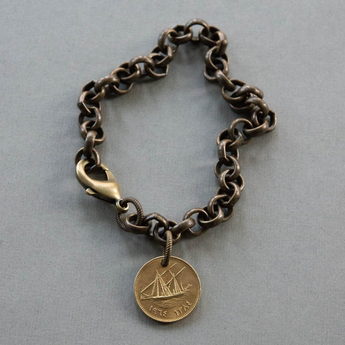 Ship At Sea Bracelet