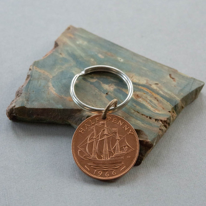 Setting Sail Key Chain