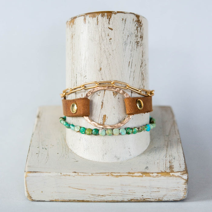 Woodstock Summer Stack Bracelets