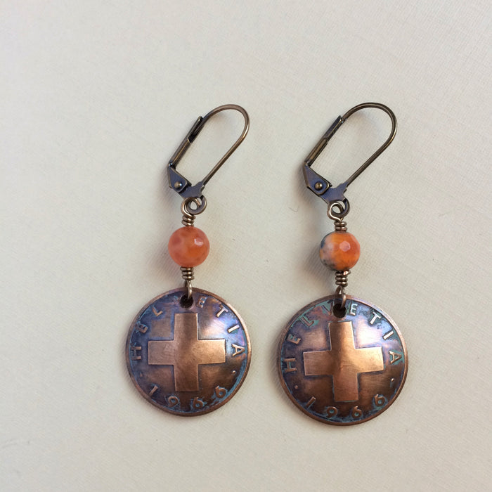 Coin Jewelry - Explore Earrings