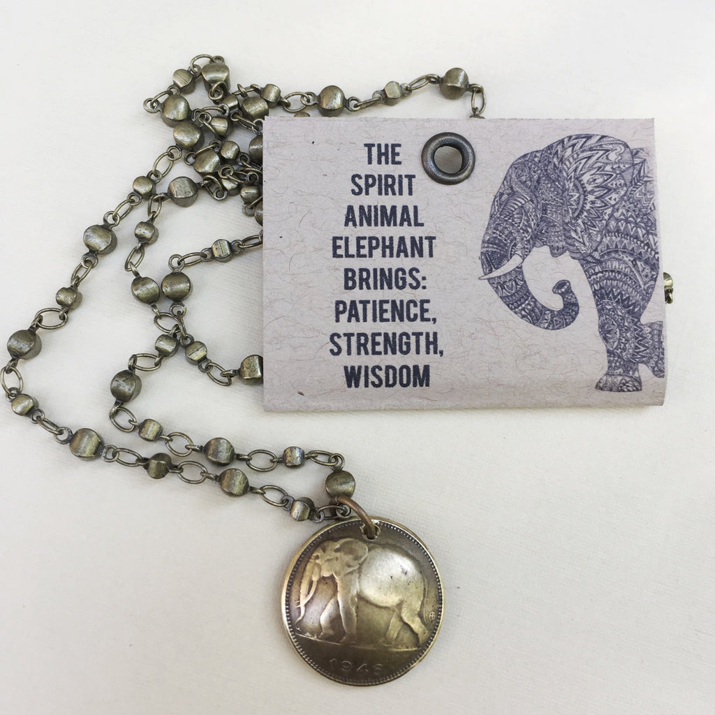 Elephant Totem Necklace 4
