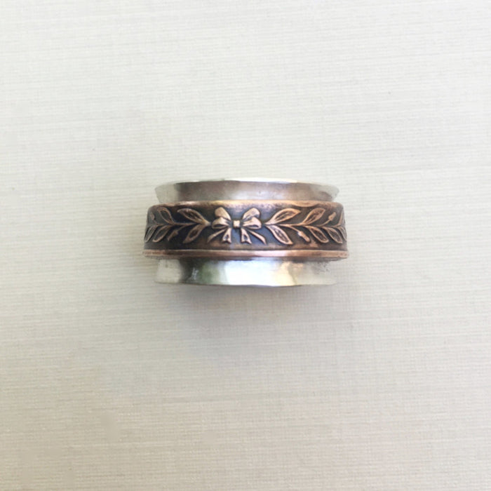Coin Spinner Ring