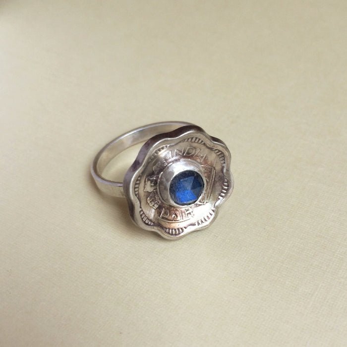Coin Jewelry - Forget Me Not Ring