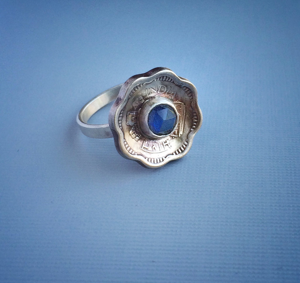Coin Jewelry - Forget Me Not Ring 2