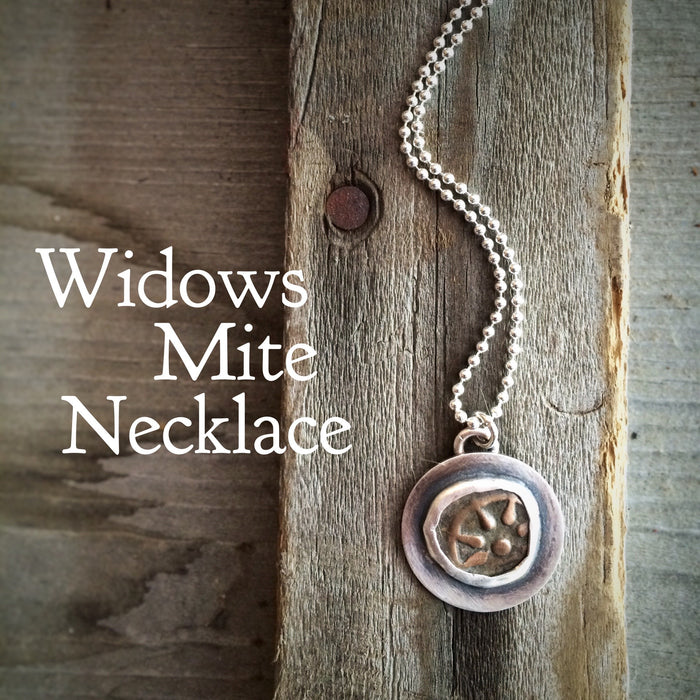 widows mite necklace
