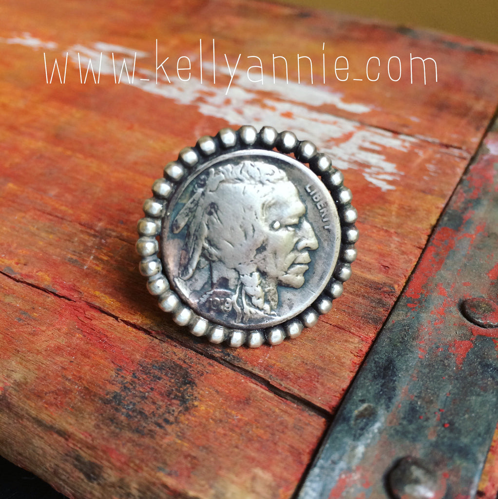 Vintage Coin Jewelry - Americana Ring 2