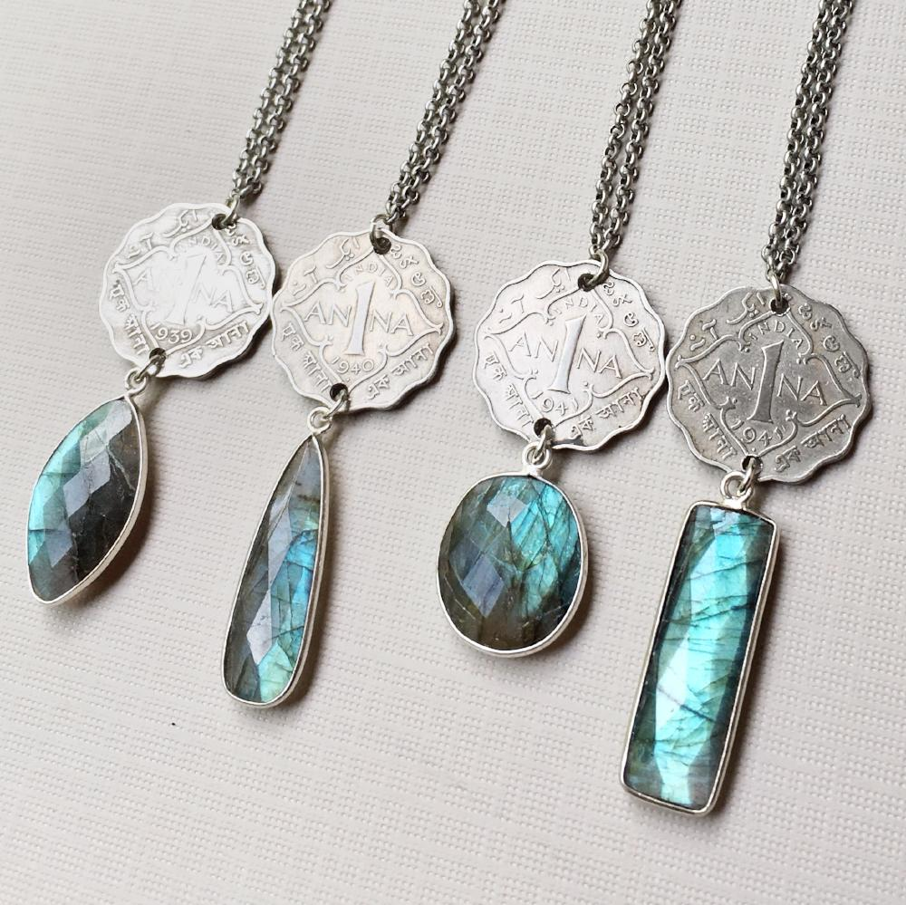 Northern lights necklace kelly annie for The universe conspires jewelry