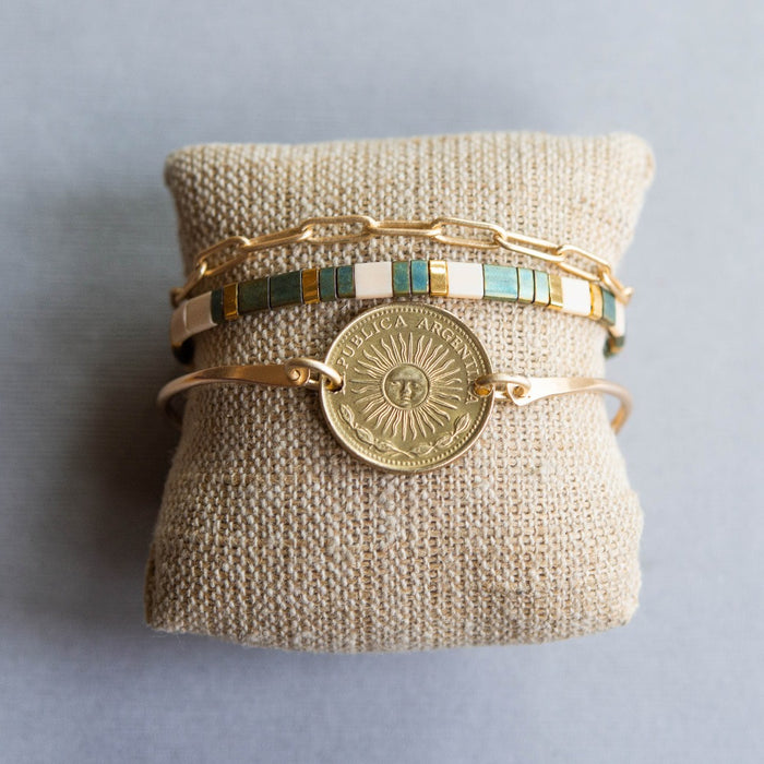 Sun-Kissed Summer Stack Bracelets