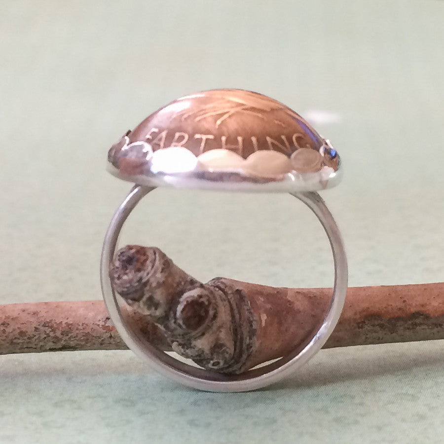 Vintage Coin Jewelry - Branch Out Ring