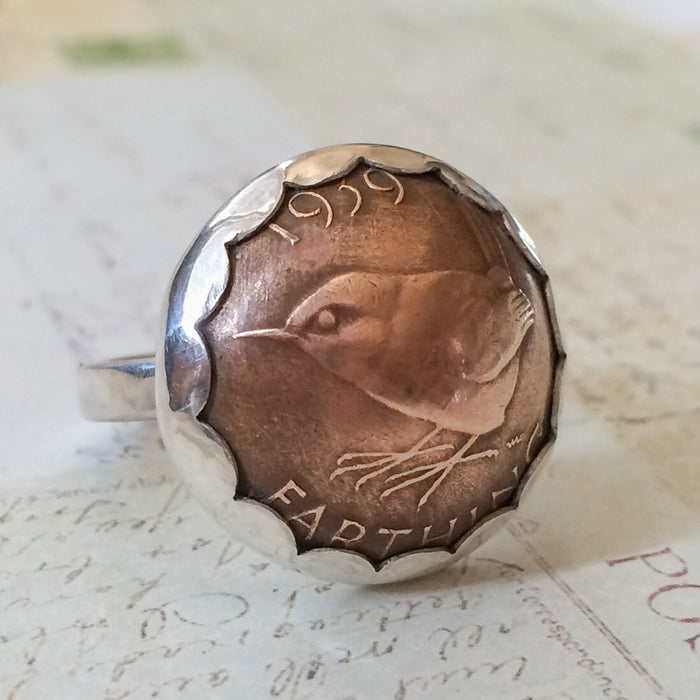 Coin Jewelry - Branch Out Ring