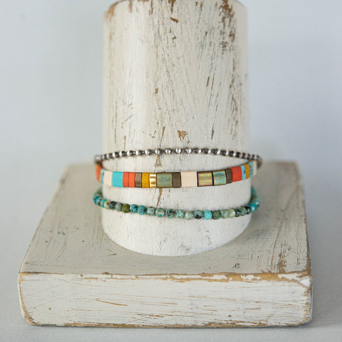 Peace & Love Summer Stack Bracelets