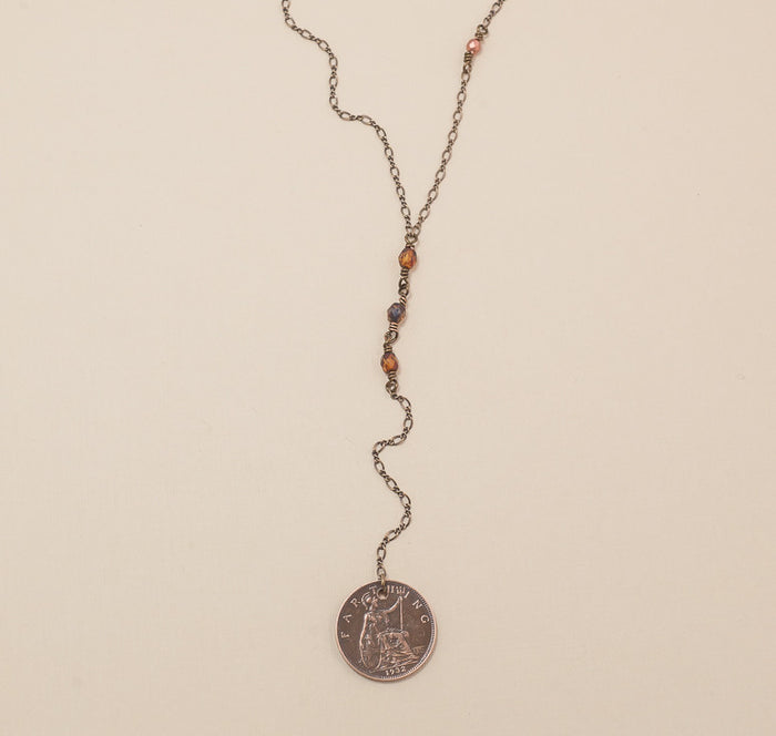 Handmade Coin Jewelry - Journey Necklace