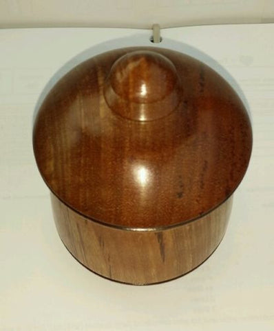Bolivian rosewood keepsake Cremation Urn for human or pet hand made
