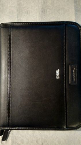 Padfolio for tablets brookstone leather