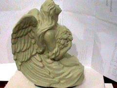 Serenity Angel Keepsake Porcelain ivory color