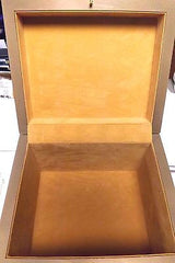 memorial hammered gold chest urn devotion chest adult pet 275 cubic