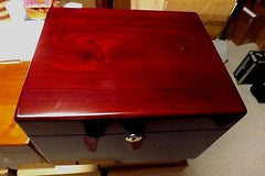 memorial chest urn devotion chest rosewood large adult large pet 275 cubic