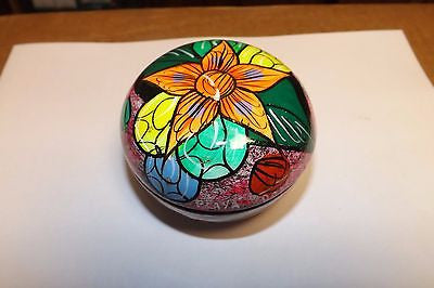 Keepsake urn from mexico 10 cubic hand made Tropical