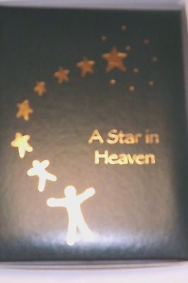 Funeral Register Book Memorial Register A star In Heaven Green Cover