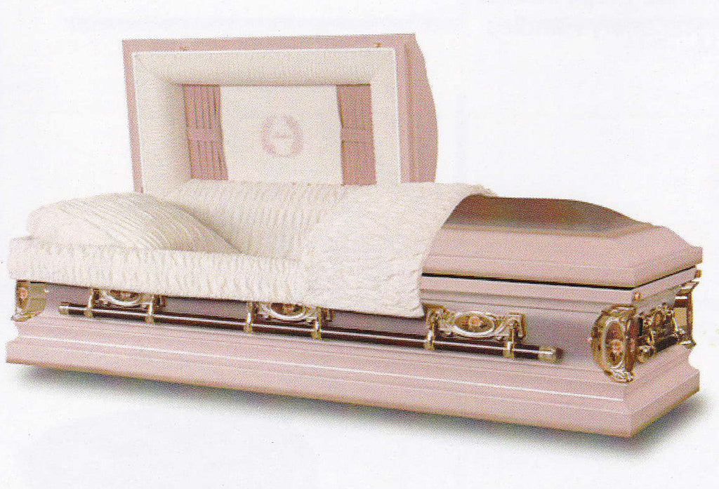 Mother Steel Casket