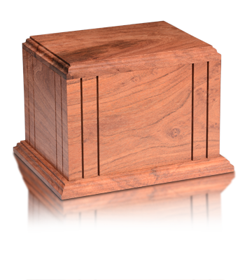 Texas Mesquite Wood - Adult Urn - Made in U.S.A.